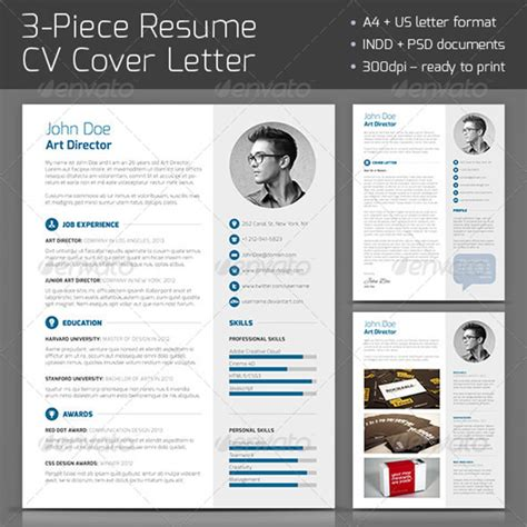 business resume template photoshop 20 resume templates f 252 r deinen traumjob