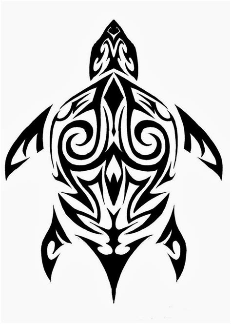 tribal turtles tattoos tattoos book 2510 free printable stencils turtle