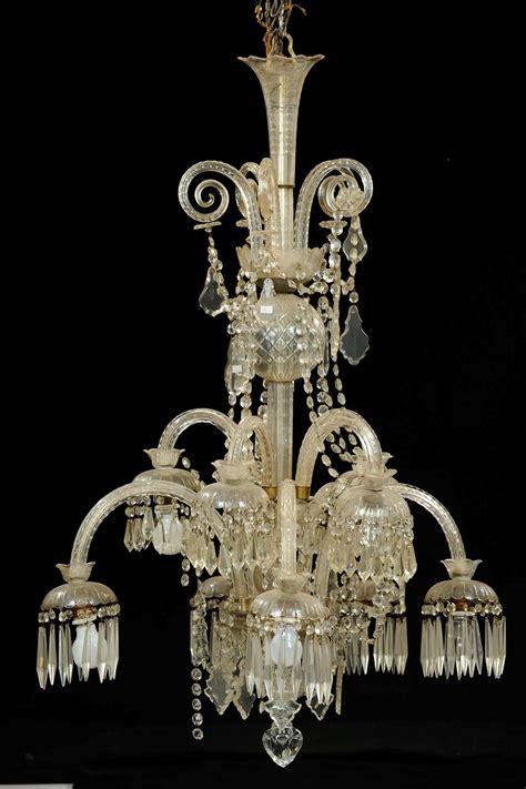 ladari in cristallo di boemia ladario in cristallo di boemia xix secolo