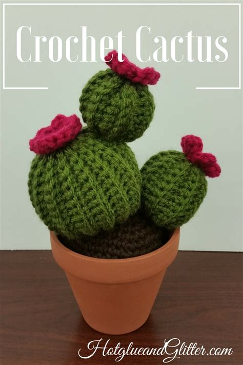 pattern crochet cactus crochet cactus plant free pattern stitches used chain