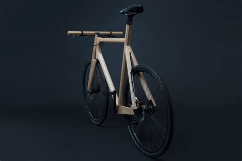 designboom wooden bike paul timmer s vibration absorbing wooden bikes crafted