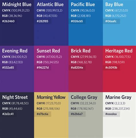 what is a secondary color wharton school colors identity kit