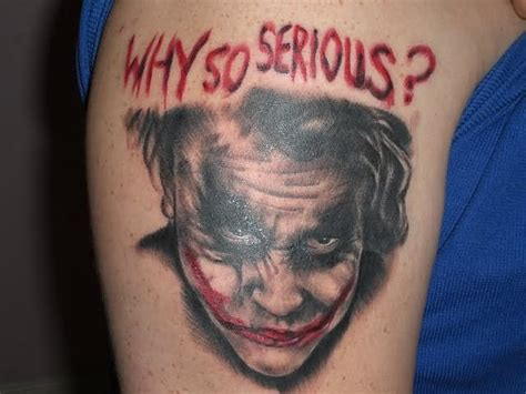 tattoo joker why so serious 16 incredible joker tattoos ideas for shoulder