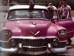 Elvis Cadillacs Pink Cadillac Elvis