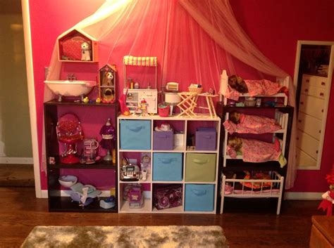 doll organizations american doll storage cheap book shelving from target