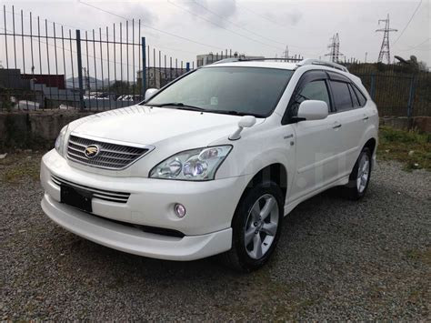 pictures of toyota harrier 2007 toyota harrier ii pictures information and specs