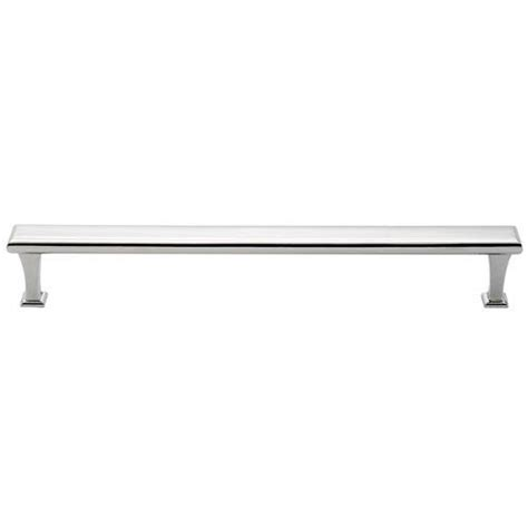 12 inch chrome drawer pulls polished chrome brass 12 inch appliance pull alno inc