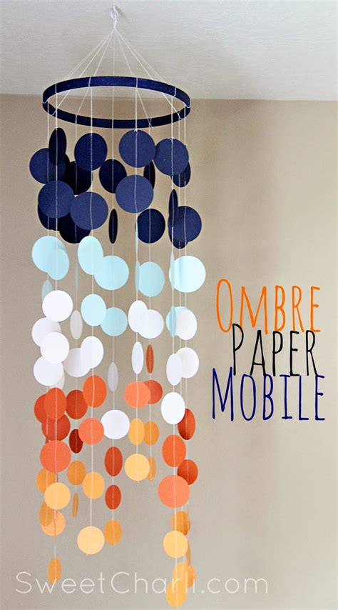 Make A Paper Mobile - it s raining ombr 233 how to use ombr 233 in your paper crafts