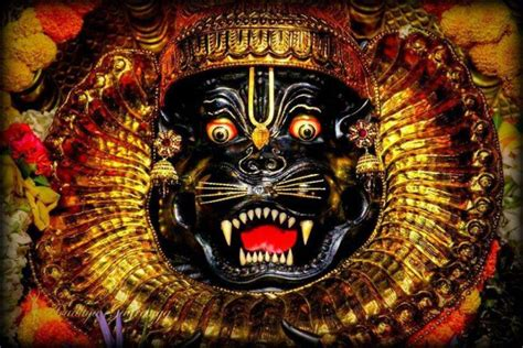 lord narasimha dev powerful narasimha mantras for protection with meaning