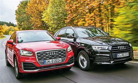 Audi Q3 Oder Q5 by Audi Q2 Audi Q3 Vergleichstest Autozeitung De