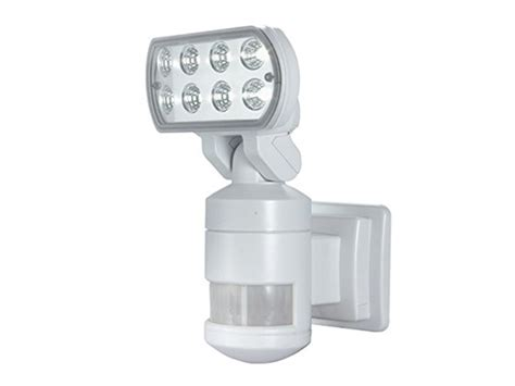 versonel nightwatcher pro 8 led security motion track light nightwatcher security motion track lights