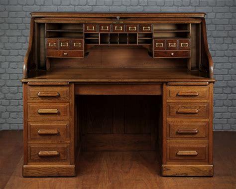 roll top office desk edwardian oak roll top desk c 1905 300875
