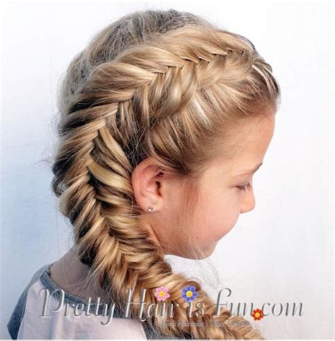 little girl hairstyles braided to the side side dutch fishtail braid tutorial and some other cool
