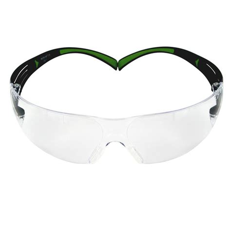 safety goggles with fan 3m securefit 400 series black neon green frame with anti