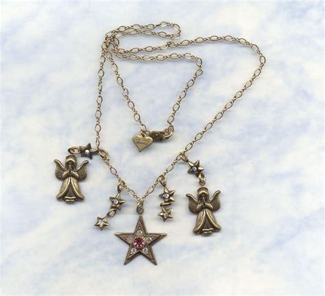 Top Shelf Jewelry by Top Shelf Jewelry Charm Necklace Signed