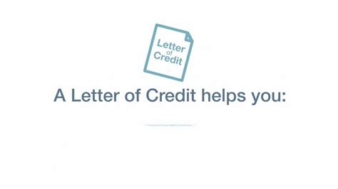 certification in letter of credit letters of credit