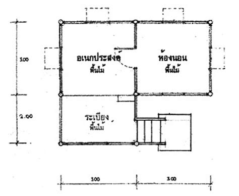 house plans hut thai hut plans
