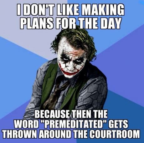 Finny Memes - planning a day