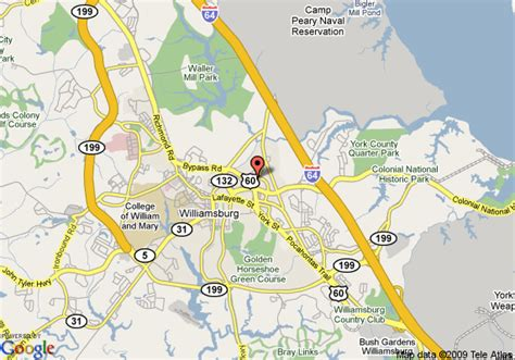 virginia resort area map map of williamsburg va travelodge williamsburg