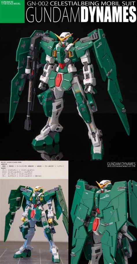 1 100 Gundam Dynames Bandai virtuous mf s improved 1 100 gundam dynames photo