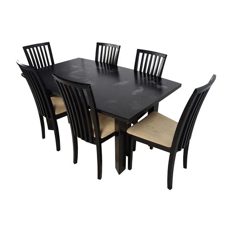 24 Dining Chairs 90 Skovby Skovby Sm 24 Dining Table With Butterfly Extensions And Six Chairs Tables