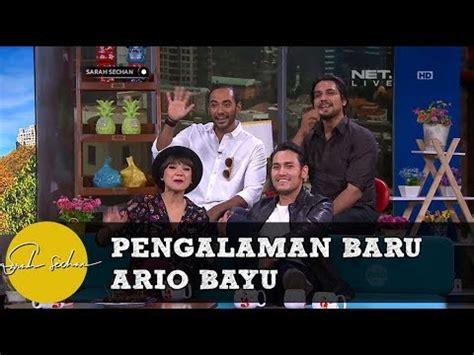film komedi baru pengalaman baru ario bayu bermain film komedi youtube
