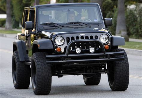 David Beckham Jeep Dicing With The The 10 Most