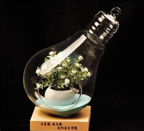 Light Bulb Vase Buy by Buy Wholesale L Planter From China L Planter