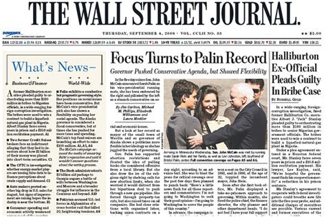 wall street journal real estate section this day in crisis history sept 4 2008 moneybeat wsj