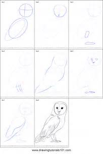 how to sketch how to draw a barn owl printable step by step drawing sheet drawingtutorials101
