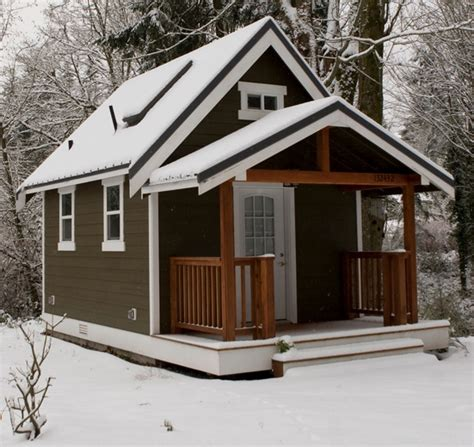 Backyard Bungalow Plans by The 420 Square Foot Backyard Cottage Home Design Garden