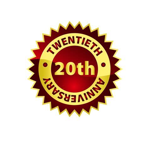 20th anniversary logo www imgkid com the image kid has it