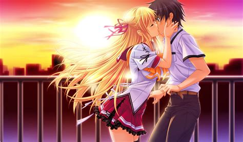 anime kiss anime kiss wallpapers wallpapersafari