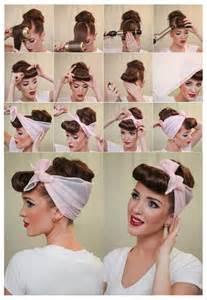 1940s womens hairstyle tutorials tuto coiffure de soir 233 e