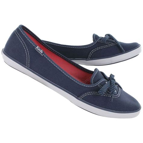 Keds Slinger Leather Skimmer by Keds S Teacup Navy Skimmer Sneakers Wf49962