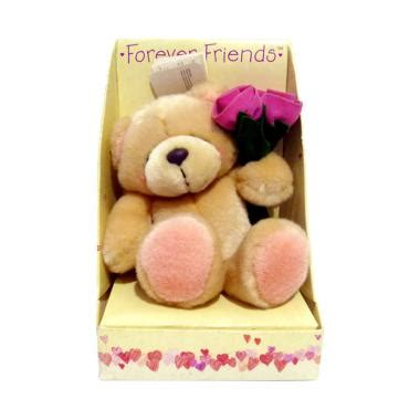 Boneka Rajutan Forever Friend jual hallmark teddy forever friends uk flower holding boneka original harga