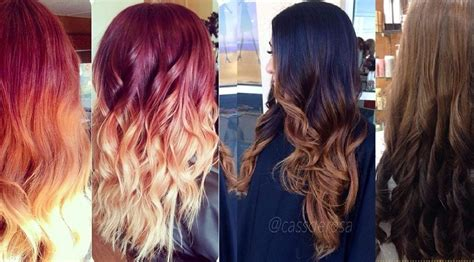 hairstyles and colors 2015 most popular ombre hairstyles colors for women 2016 2017