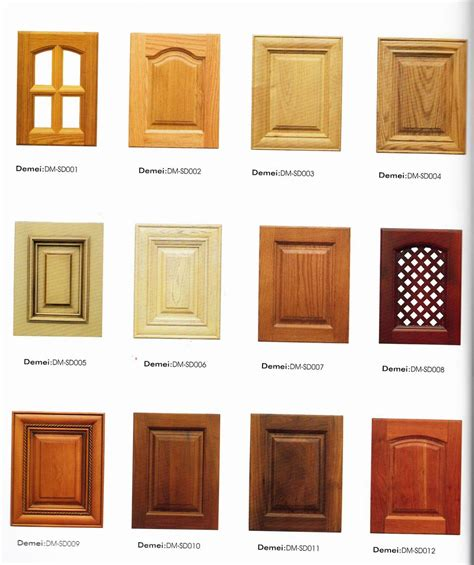 kitchen cabinet door design ideas wooden cabinet door designs