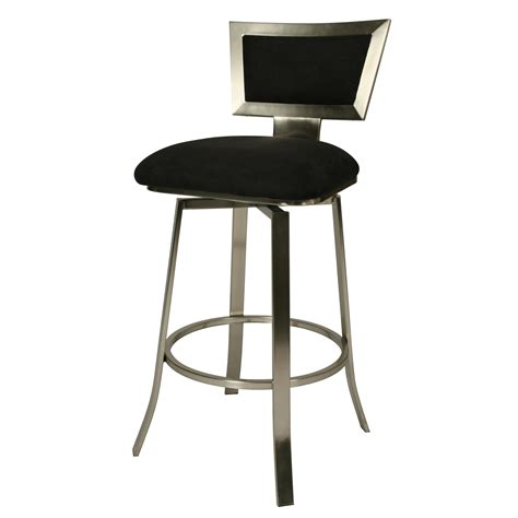 Diy Swivel Bar Stools by Contemporary Swivel Bar Stools Brushed Metal Legs The