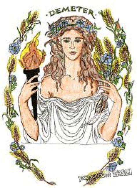 Demeter Symbols Greek Mythology