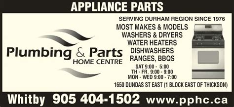 Plumbing And Parts Home Centre by Plumbing Parts Home Centre Whitby On 1650 Dundas St