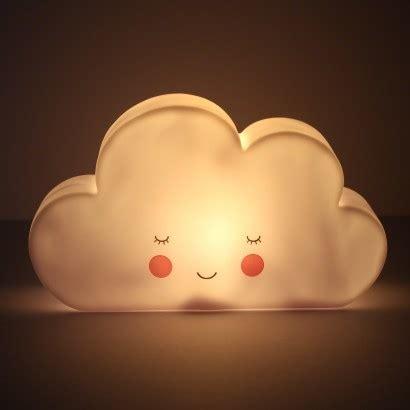 cloud 9 night light white cloud led night light