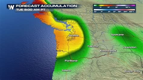heavy rain possible for the pacific northwest this weekend