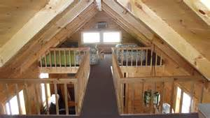deluxe lofted barn cabin interior finished deluxe lofted