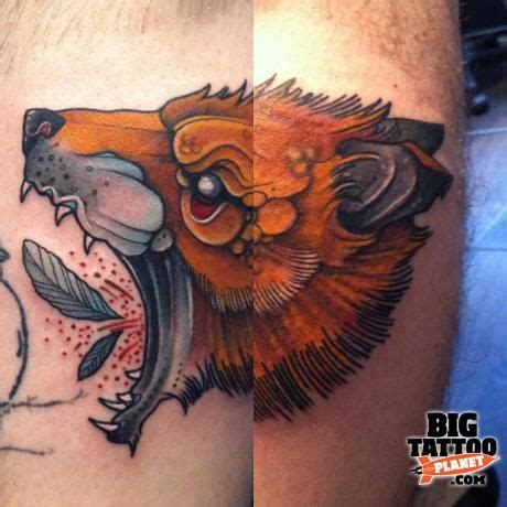 bears den tattoo 1000 images about by mitch allenden on