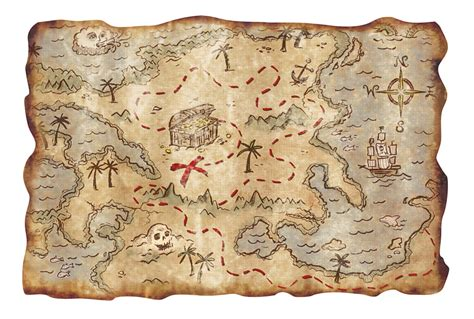 printable pirate maps 9 best images of printable pirate treasure map realistic