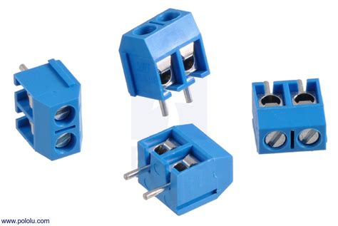 Terminal Connector 3pin Pitch 7 6mm Side Entry pololu terminal block 2 pin 5 mm pitch side