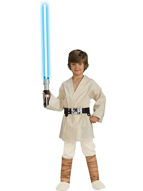 boy s luke skywalker wars costume ebay