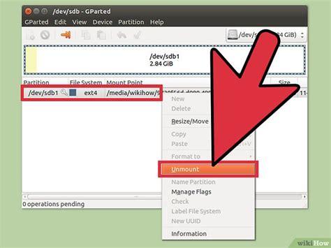 format hard disk ubuntu c 243 mo formatear un disco duro usando ubuntu 22 pasos