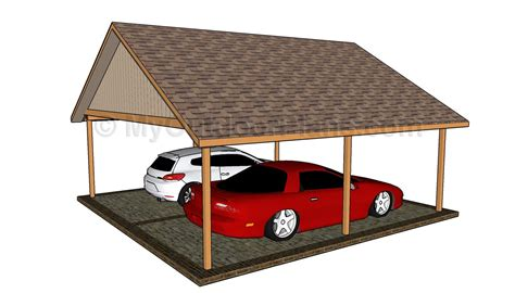two car carport plans wood work two car carport plans pdf plans